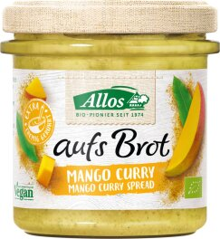 Allos Aufs Brot Mango & Curry 140g