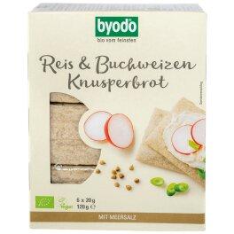 Byodo Bio Knusperbrot Reis & Buchweizen 120g
