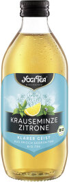 Yogi Tea Bio Krauseminze Zitrone mit Pfefferminze 330ml