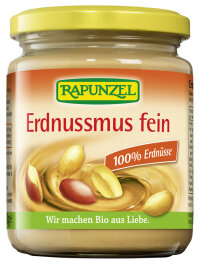 Rapunzel Erdnussmus fein Bio 250g
